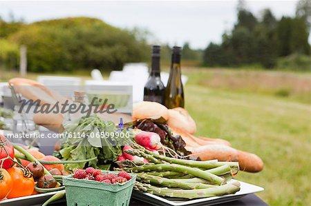 Fresh farm produce