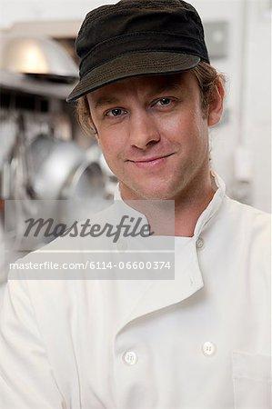 Portrait of male chef