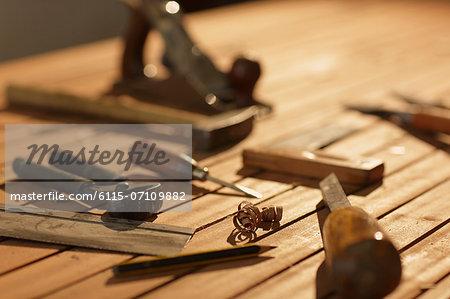 Carpentry, work tools, Osijek, Croatia, Europe