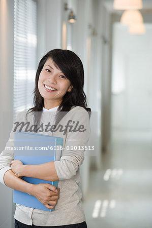 Female office worker