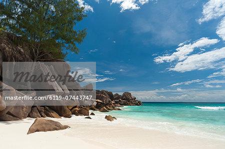 Grand Anse beach, La Digue, Seychelles, Indian Ocean, Africa