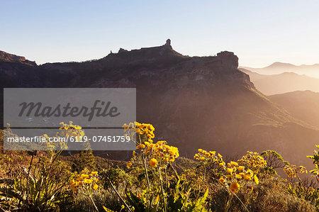 Roque Nublo, Gran Canaria, Canary Islands, Spain, Europe