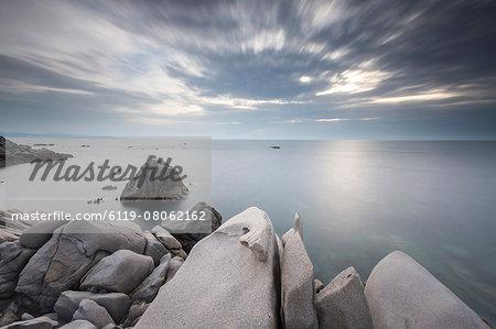 Capo Testa, one of the prettiest sites in all of Sardinia, Italy, Mediterranean, Europe