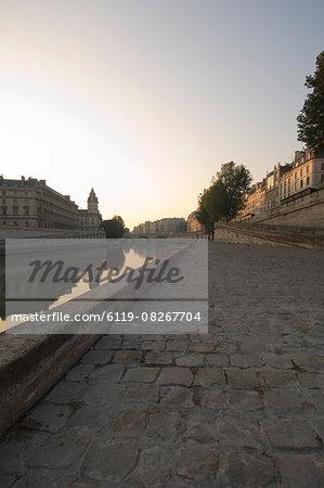 Quai St Michel,Paris,France