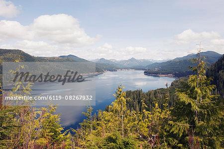 Nitinat Lake, Carmanah Walbran Provincial Park, Vancouver Island, British Columbia, Canada, North America