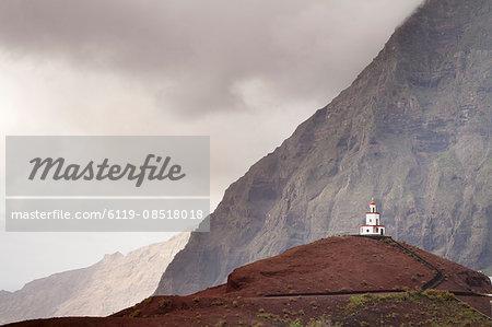 Nuestra Senora de la Candeleria church, La Frontera, El Golfo, UNESCO biosphere reserve, El Hierro, Canary Islands, Spain, Europe