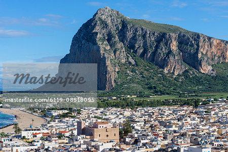 View of San Vito Lo Capo, Sicily, Italy, Europe