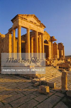 Sbeitla, Roman ruins, Tunisia, North Africa