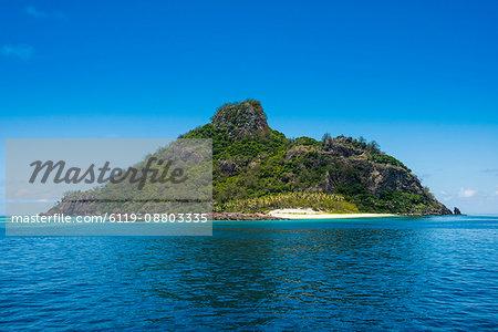 Monuriki (Cast Away Island), Mamanuca Islands, Fiji, South Pacific