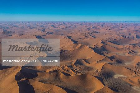 Aerial of the Namib Desert, Namibia, Africa