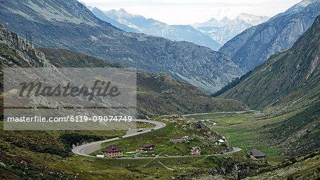 Gotthard Pass, Canton of Uri, Switzerland, Europe
