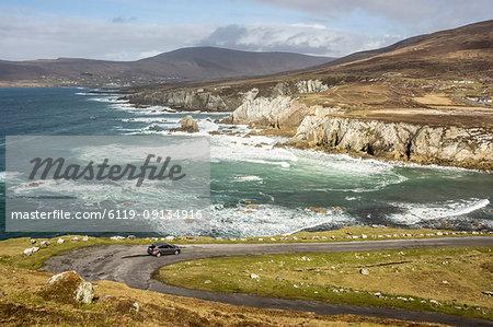 Atlantic Drive, southern Achill Island, County Mayo, Connacht, Republic of Ireland, Europe