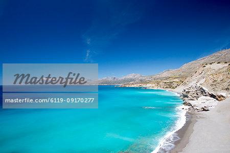 Agios Pavlos Beach on the island of Crete, Greek Islands, Greece, Europe