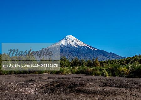 Osorno Volcano, Petrohue, Llanquihue Province, Los Lagos Region, Chile, South America