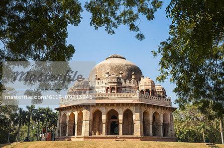 Mohammed Shah's Tomb, Lodi Gardens, New Delhi, Delhi, India, Asia
