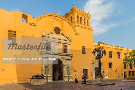 The church of Santo Domingo, Cartagena, Colombia, South America