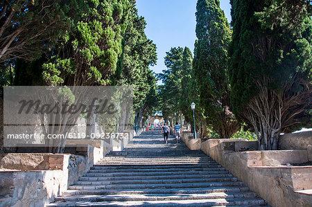 Sanctuary of Sant Salvador, Arta, Mallorca, Balearic Islands, Spain, Mediterranean, Europe