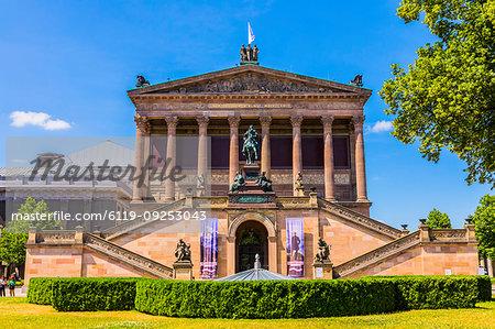 Alte Nationalgalerie in Berlin, Germany, Europe