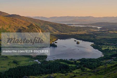 Glanmore Lake, County Kerry, Munster, Republic of Ireland, Europe