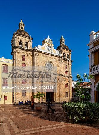 San Pedro Claver Church, UNESCO World Heritage Site, Cartagena, Bolivar Department, Colombia