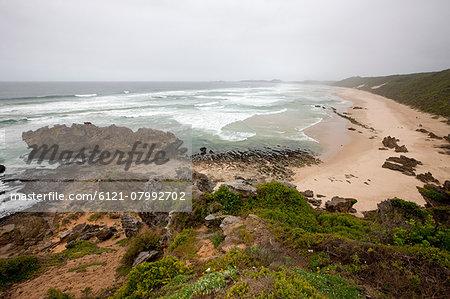 View of the beach, Brenton-On-Sea, Knysna, South Africa
