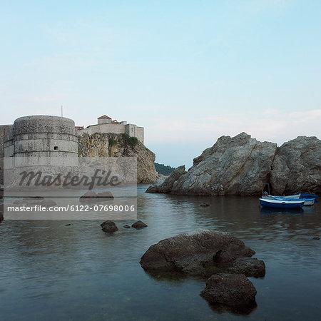 Fort Lovrijenac and sea, Dubrovnik, Croatia