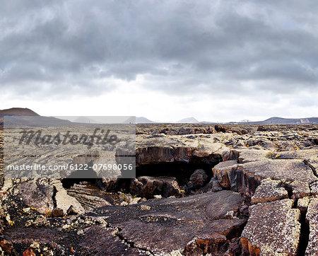 Lanscape of Montanas del Fuego, Lanzarote