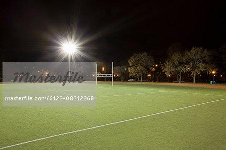 American football pitch