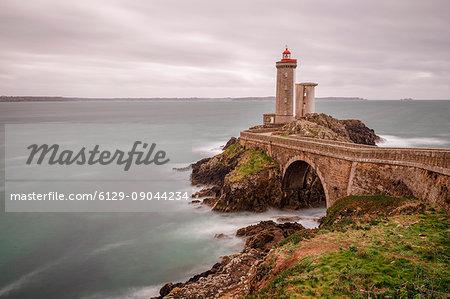 Phare du Petit Minou, Plouzané, Brest, Finistère département, Bretagne - Brittany, France, Europe