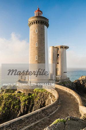 Petit Minou lightouse. Plouzané, Finistère, Brittany, France.