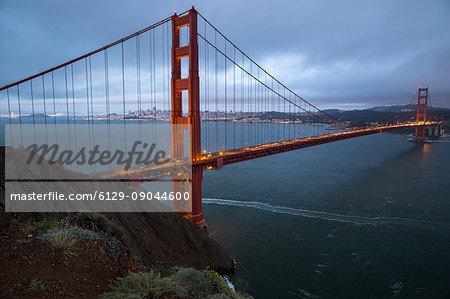 USA, West Coast,California, San Francisco, Golden Gate, Bridge