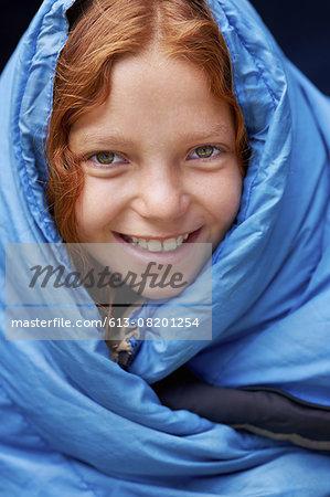 I love my blue sleeping bag!