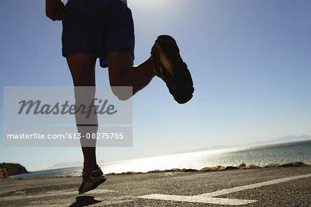 Enjoying a good run