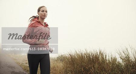 Running in solitude
