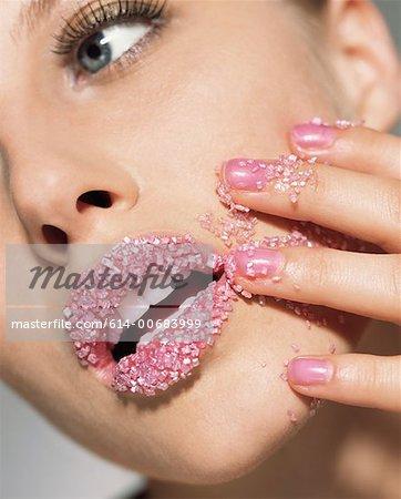 Sugar lips Stock Photos - Page 1 : Masterfile