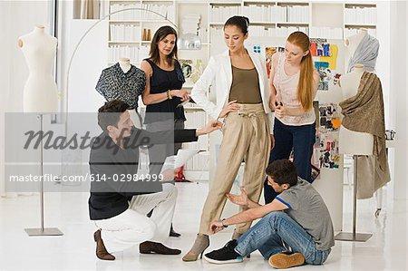 Fashion Designers At Work Stock Photo Masterfile Premium Royalty Free Code 614 02984999