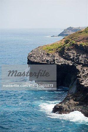 Kauai coastline, Hawaii