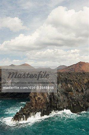 Coastline of Los Hervideros, Lanzarote