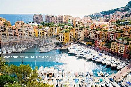 Fontvielle, Monaco harbour, Monaco