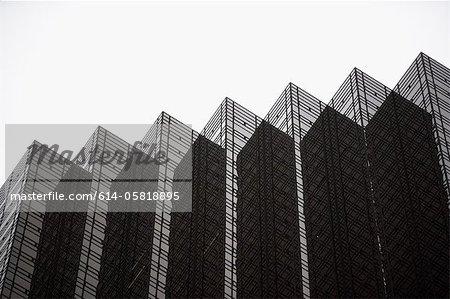 Reflective building, New York City, USA