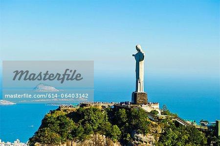 Christ the Redeemer statue overlooking Rio de Janeiro, Brazil