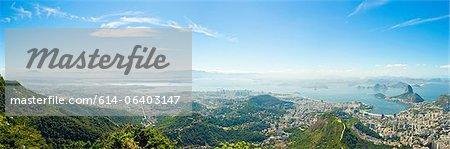 Rio de Janeiro panorama, Brazil