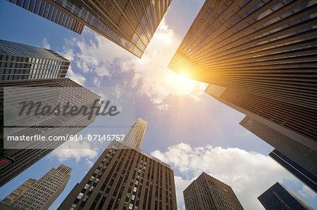 Skyscrapers, New York, New York State, USA