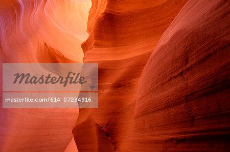 Eroded sandstone formation, Antelope Canyon, Page Arizona, USA
