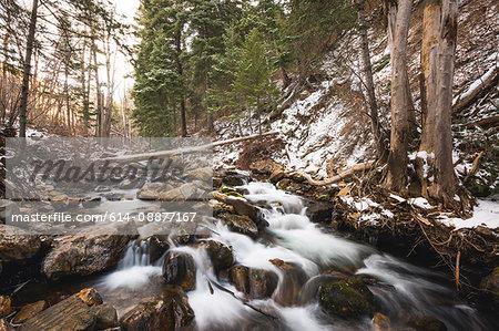 River, Salt Lake City, Utah, US