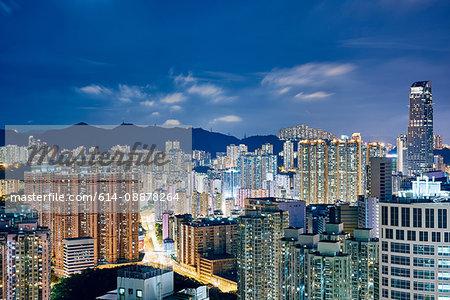 Cityscape, Tsuen Wan, Hong Kong
