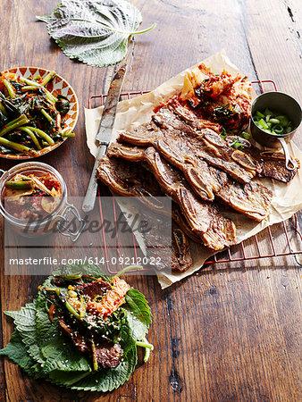 Korean Kalbi Barbecue Beef