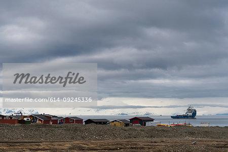 Longyearbyen, Spitsbergen, Svalbard, Norway