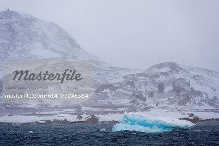 Murchinson Bay, Murchisonfjorden, Nordaustlandet, Svalbard, Norway