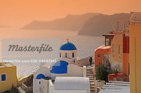 Greece, Santorini, Church